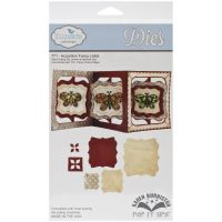 Elizabeth Craft Designs - Accordion Fancy Label Die