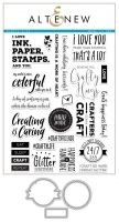 Altenew - Crafty Life Stamps and Dies Set  -