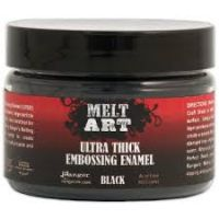 Ranger - Melt Art - Ultra Thick Embossing Enamel - Black
