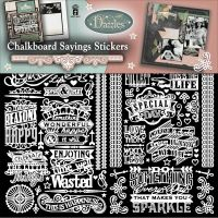 Hot Off The Press - Chalkboard Sayings Stickers