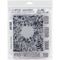 Tim Holtz - Stampers Anonymous Botanical Sketch