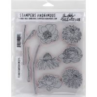 Tim Holtz Stampers Anonymous-  Flower Garden  +