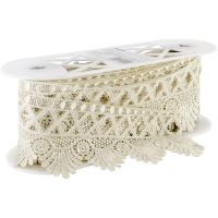 Venice Lace Scalloped Edge