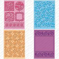 Cuttlebug - Cindy Loo - Embossing Folder  -