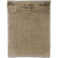 Tim Holtz - Idea-ology 6X8 Burlap Panel  ^