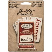 Tim Holtz - Idea-ology Christmastime Flash Cards  -
