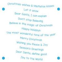LDRS Creative - Christmas Wishes Stamp   -
