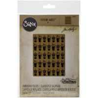 Tim Holtz - Alterations - On The Way Embossing Folder  -