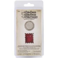 Tim Holtz Sizzix Movers & Shapers - Bottle Cap and Stamp