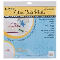 Grafix - Clear Craft Plastic 12 X 12