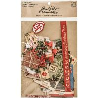Tim Holtz Idea-ology - Festive Ephemera Pack  -