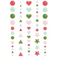 Fancy Pants Designs - Home for the Holidays - Puffy Stickers