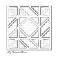 Die-Namics Quilt Square Cover-Up by My Favorite Things - Diagonal