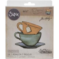 Tim Holtz Sizzix Movers and Shapers - Tea Time