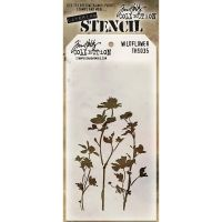 Tim Holtz Stampers Anonymous - Wildflower Stencil