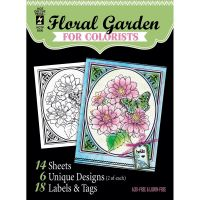 Hot Off The Press - Floral Garden for Colorist