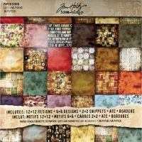 Tim Holtz Idea-ology - Lost and Found Paper Stash
