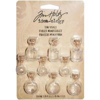 Tim Holtz Idea-ology - Tiny Vials  ~