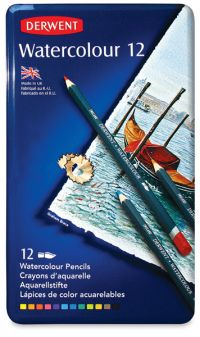 Derwent - 12 Watercolour Pencil Collection