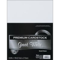 Core'dinations Premium Cardstock White