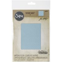 Tim Holtz Alterations - Quilted Embossing Folder