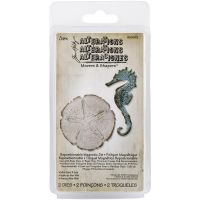 Tim Holtz Alterations Movers and Shapers - Sand & Sea