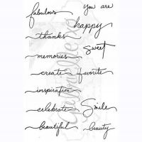 Gabrielle Pollacco - Gabi's Words Stamp Set  -