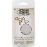 Tim Holtz Alterations Movers & Shapers - Mini Clock Key & Pocket Watch
