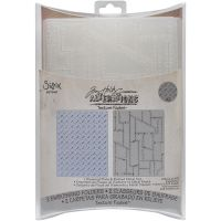 Tim Holtz Alterations - Diamond Plate/Riveted Metal Embossing Folders