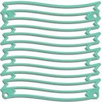 LDRS Creative - Wave Ribbon Banner Stack Die  -