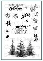Gina K Designs - Christmas Greenery Stamp Set