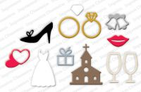 Impression Obsession - Wedding Icons Dies
