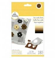 EK Tools Assorted Faux Suede Sheets