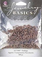 Cousin Jump Rings - Copper  -