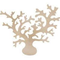 KaiserCraft Wooden Flourishes - Coral