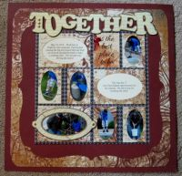 "Quick Quotes Premier 4 Page Scrapbook Kit - ""Together"""