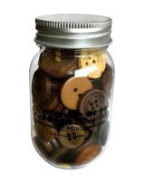 Buttons Galore & More - Warm Cocoa  -