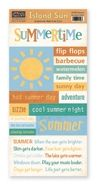 Paper Loft Island Sun Summertime Accessory Sheet