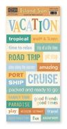 Paper Loft Island Sun Vacation Accessory Sheet