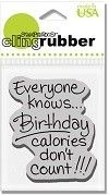 Stampendous Birthday Calories