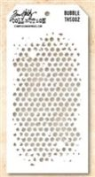Tim Holtz Stampers Anonymous Stencil - Bubble  -