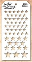 Tim Holtz Stampers Anonymous Stencil - Stars  -