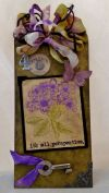 Tim Holtz Stampers Anonymous - Illustrated Garden Stamp Set  **