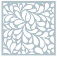Gina K Designs - Water Droplets Stencil  -