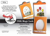 The Paper Cut - Oval Magic Cards  -