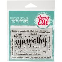 Avery Elle - With Sympathy Stamp Set