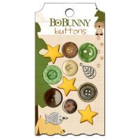 BoBunny - Camp-a-lot Buttons