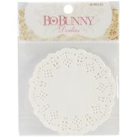 "Bo Bunny - 4"" Paper Doilies"