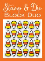 Impression Obsession - Stamp & Block Duo Candy Corn