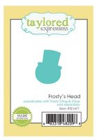 Taylored Expressions - Frosty's Head Die  -